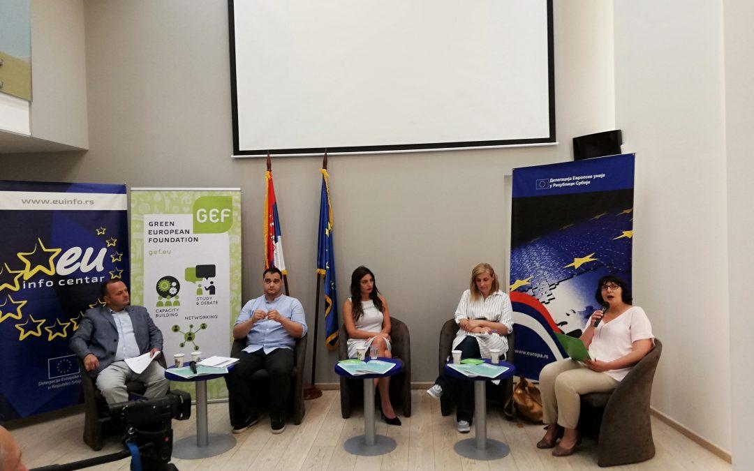 Predstavljeni rezultati istraživanja o zelenoj ekonomiji u Srbiji