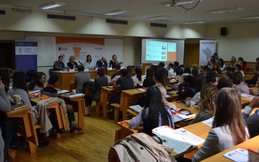 Šesti Dani javnih politika otvoreni na Fakultetu političkih nauka u Beogradu