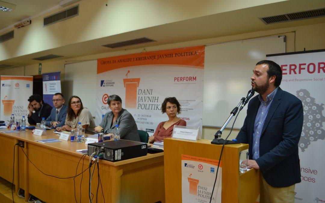 """Panel diskusija """"""""Kvalitet doktorskih studija u DH naukama u Republici Srbiji"""" održana na FPN"""