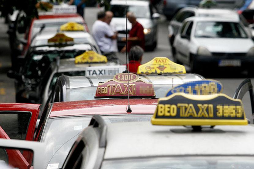 Politika taksi prevoza – grad Beograd