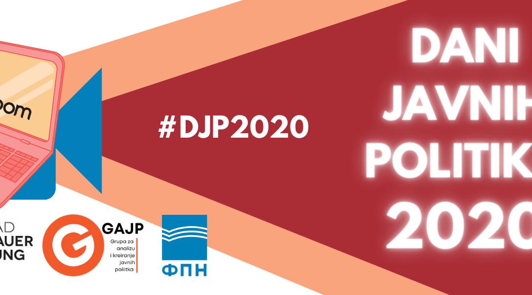 Održani Dani javnih politika 2020